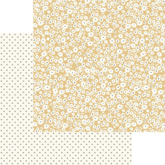 "Gingham Gardens - My Mind's Eye - Double-Sided Cardstock 12""X12"" - Hannah"