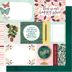 "Willow - One Canoe Two - Double-Sided Cardstock 12""X12"" - Happy Home"