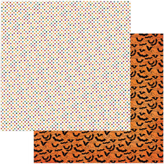 "Matilda & Godfrey Double-Sided Cardstock 12""X12"" - Haunted House"