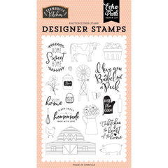 Farmhouse Kitchen - Echo Park - Stamps - Heart Of The Home