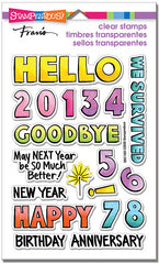 Stampendous - Perfectly Clear Stamps - Hello 2021