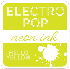 Rina K - ElectroPop Neon Ink Pad - Hello Yellow