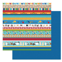 "Cat Lover - Photo Play - 12""X12"" Patterned Paper - Here Kitty Kitty"