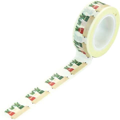 A Cozy Christmas - Echo Park - Decorative Tape 30' - Holiday Jars