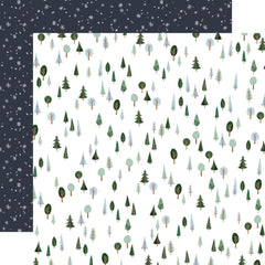 "Winter Market - Carta Bella - Double-Sided Cardstock 12""X12"" - I Love Winter"