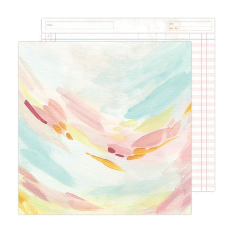 "All Girl - Echo Park - Double-Sided Cardstock 12""X12"" - Imagination"
