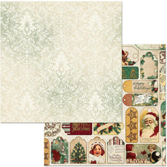 "Yuletide Carol Double-Sided Cardstock 12""X12"" - Jolly"