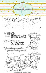 Clear Stamp - Colorado Craft Company - Kittens & Mittens
