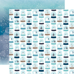 "Winter Magic - Echo Park - Double-Sided Cardstock 12""X12"" - Let It Snow"