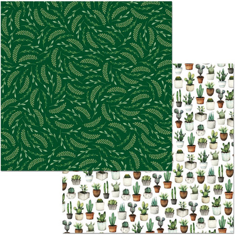 "Garden Party Double-Sided Cardstock 12""X12"" - Lush"