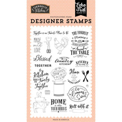 Farmhouse Kitchen - Echo Park - Stamps - Made With Love