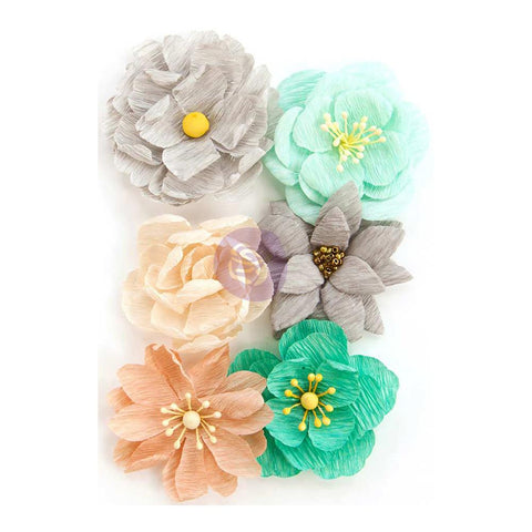 Zella Teal Flowers - Made With Love