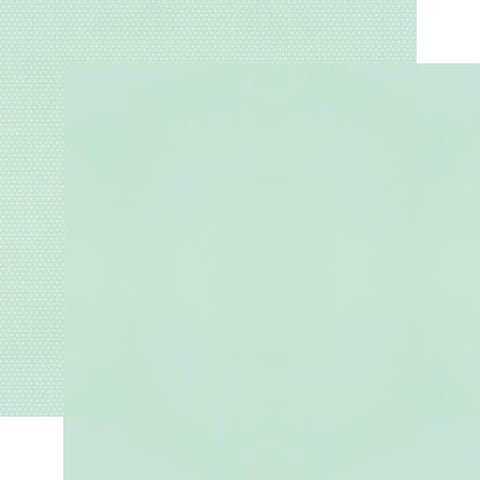 "Simple Stories Color Vibe Double-Sided Cardstock 12""X12"" - Mint"