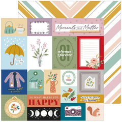 "Days of Splendor - PinkFresh - Double-Sided Cardstock 12""X12"" - Moments That Matter"