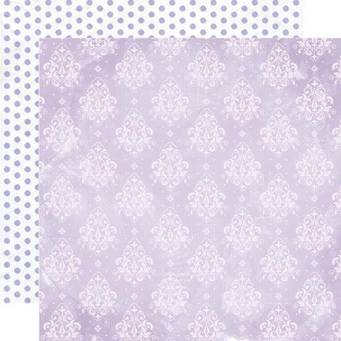 "Amethyst - Kaisercraft - Double-Sided Cardstock 12""X12"" - Moonstone"