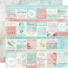 "Little Treasures - Kaisercraft - Double-Sided Cardstock 12""X12"" - Mother's Love"
