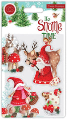 It's Snome Time  - Craft Consortium - Clear Stamp - Mr & Mrs Snome