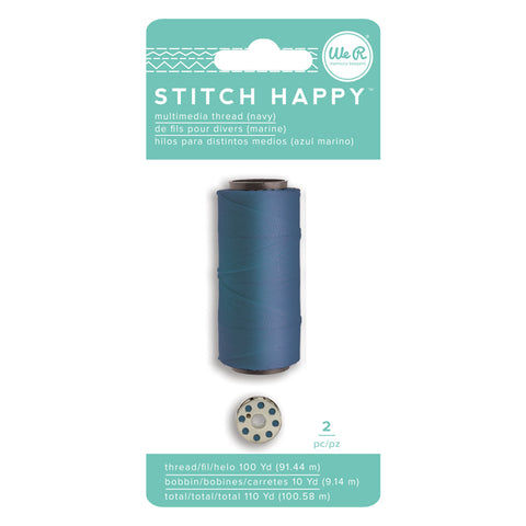 We R Stitch Happy Thread - Navy