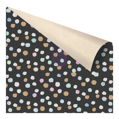 "Zella Teal Double-Sided Cardstock 12""X12"" - Offset Dot"