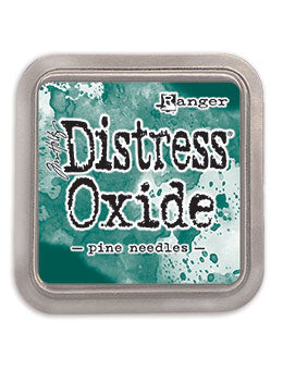 Distress Oxide Pad 3 X 3 -  PINE NEEDLES (NEW)