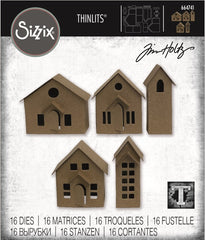 Sizzix Thinlits Dies By Tim Holtz 16/Pkg - Paper Village