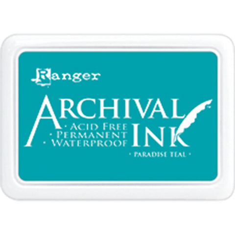 Ranger Archival Ink Pad #0 -  Paradise Teal