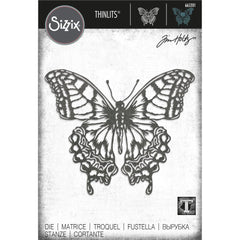 Sizzix Thinlits Die By Tim Holtz - Perspective Butterfly