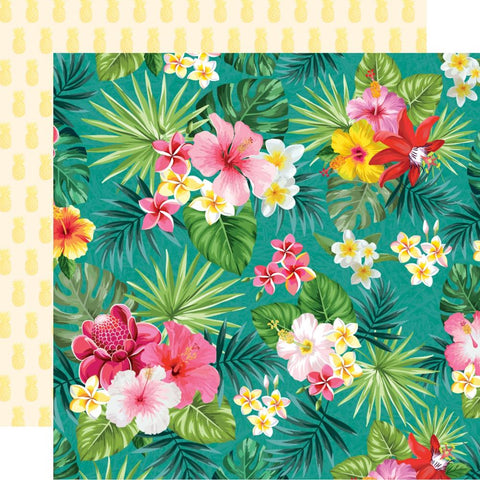 "Sunkissed - Kaisercraft  - Double-Sided Cardstock 12""X12"" - Pina Colada"