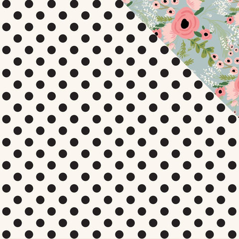 "Full Bloom Double-Sided Cardstock 12""X12"" - Posie"