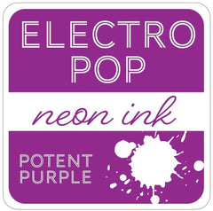 Rina K - ElectroPop Neon Ink Pad - Potent Purple