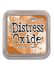 Distress Oxide Pad 3 X 3 -  RUSTY HINGE (NEW)