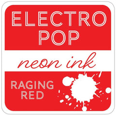 Rina K - ElectroPop Neon Ink Pad - Raging Red