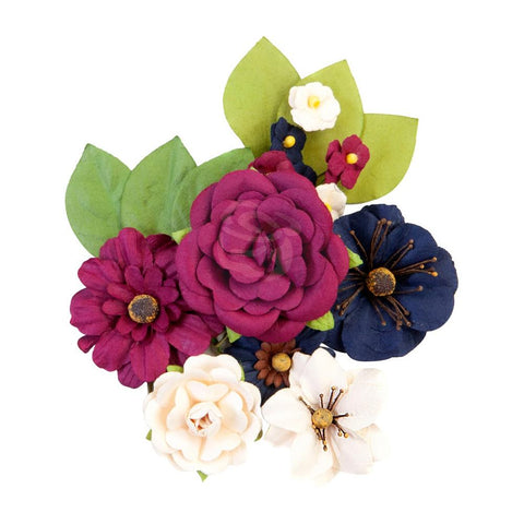 Darcelle - Prima Marketing - Mulberry Paper Flowers - Recollections