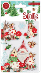 It's Snome Time  - Craft Consortium - Clear Stamp - Robin Mischief