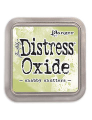 Distress Oxide Pad 3 X 3 -  SHABBY SHUTTERS (NEW)