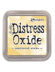 Distress Oxide Pad 3 X 3 -  SCATTERED STRAW (NEW)