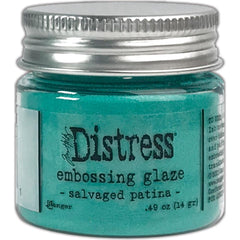 Tim Holtz - Distress Embossing Glaze - Salvaged Patina