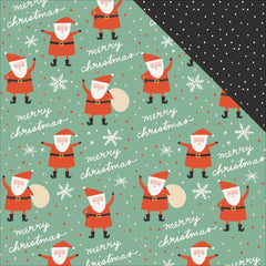 "Oh What Fun Double-Sided Cardstock 12""X12"" -   Santa"