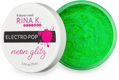 Rina K - Neon Glitz Glitter Gel, (2.3oz) - Screamin' Green