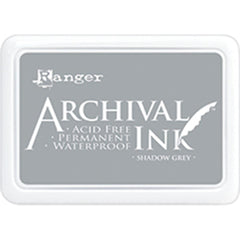 Ranger Archival Ink Pad #0 - Shadow Grey
