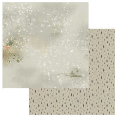 "Winters Edge - 49 & Market - Double-Sided Cardstock 12""X12"" - Snowdrift"