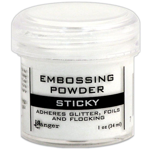 Embossing Powder 1oz - Sticky