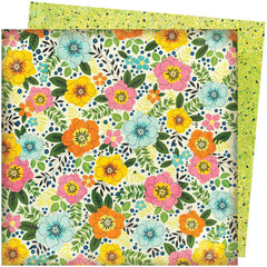 "Let's Wander - Vicki Boutin - Double-Sided Cardstock 12""X12"" - Sunshine & Smiles"