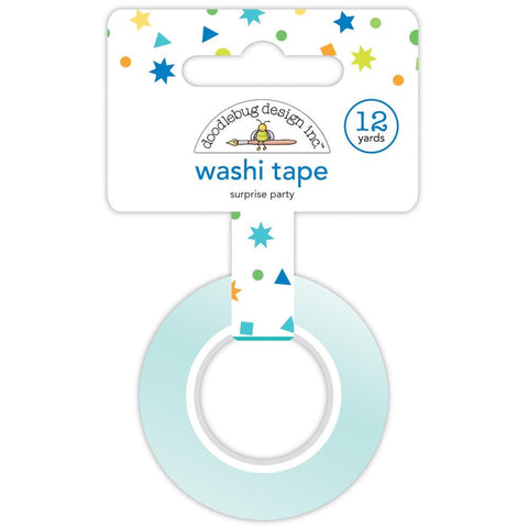 Party Time - Doodlebug - Washi Tape 15mmX12yd  - Surprise Party