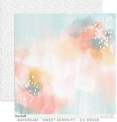 "Daydream - Cocoa Vanilla - 12""X12"" Patterned Paper - Sweet Serenity"