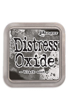 Distress Oxide Pad 3 X 3 -  Black Soot
