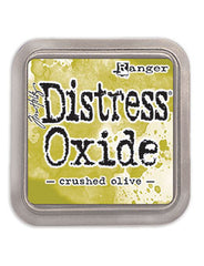 Distress Oxide Pad 3 X 3 -  CRUSHED OLIVE *NEW*
