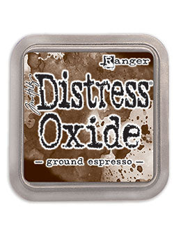 Distress Oxide Pad 3 X 3 - GROUND ESPRESSO