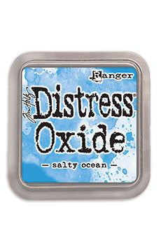 Distress Oxide Pad 3 X 3 - Salty Ocean