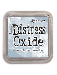 Distress Oxide Pad 3 X 3 -  WEATHERED WOOD (NEW)